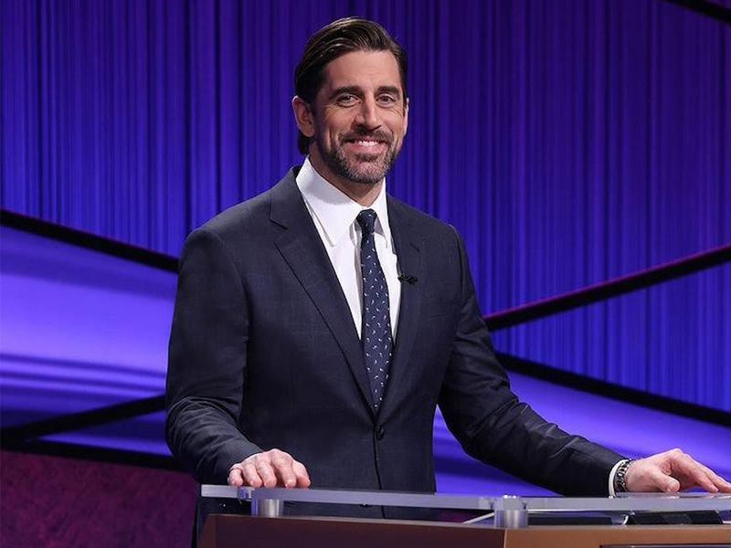Aaron Rodgers hosting Jeopardy!