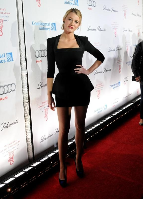 Blake Lively style at Angel Ball in New York