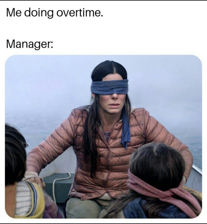 Bad manager meme