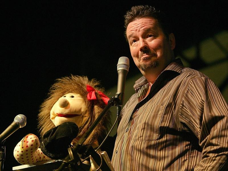 Terry Fator perfroms at East Texas State fair