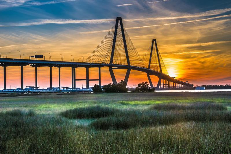 New Cooper River Bridge south carolina