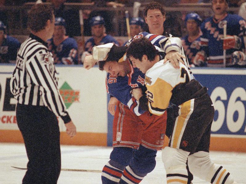 Pittsburgh Penguin Rick Tocchet