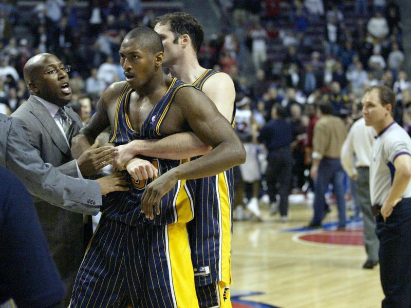 Indiana Pacers forward Metta Sandiford-Artest