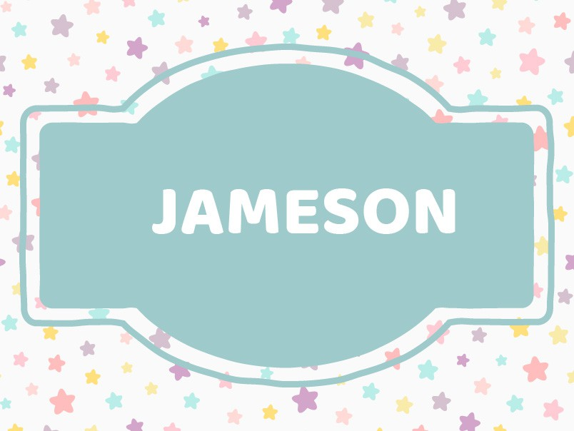 'J' Baby Boy Names: Jameson