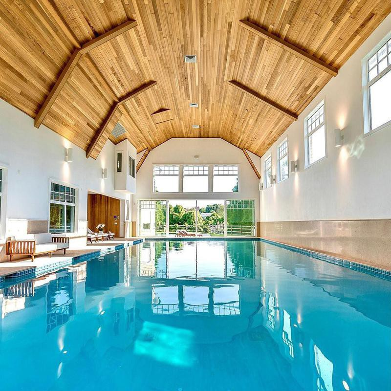 Private Indoor Pool in the Hamptons