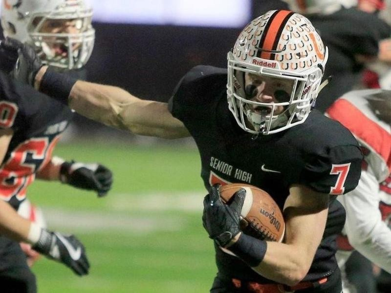 Billings Senior High wide receiver Gabe Sulser