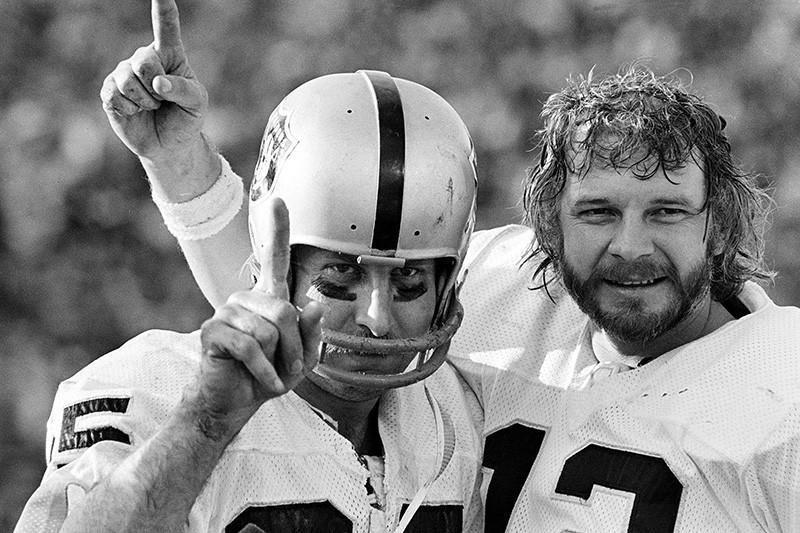 Fred Biletnikoff and Ken Stabler