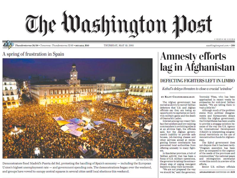 The Washington Post Newspaper Cover