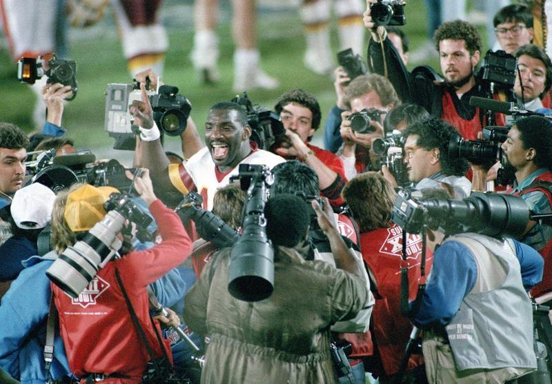 Doug Williams in Super Bowl XXII