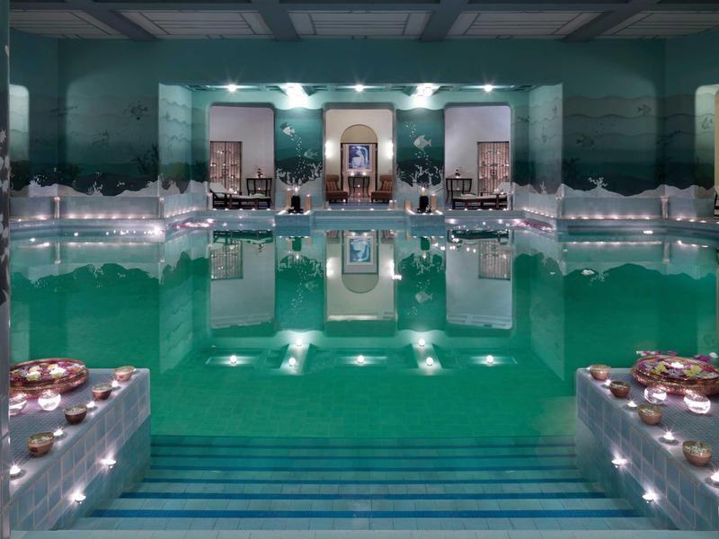 The Zodiac Pool in Umaid Bhawan Palace