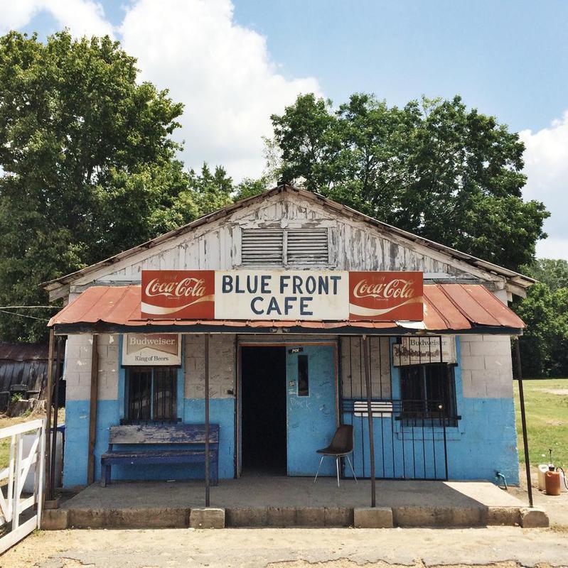 Blue Front Cafe in Mississippi