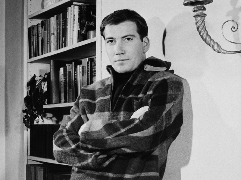 A pre-stardom Shatner poses in New York's Greenwich Village in 1959. Shatner credits his dad for his work ethic.