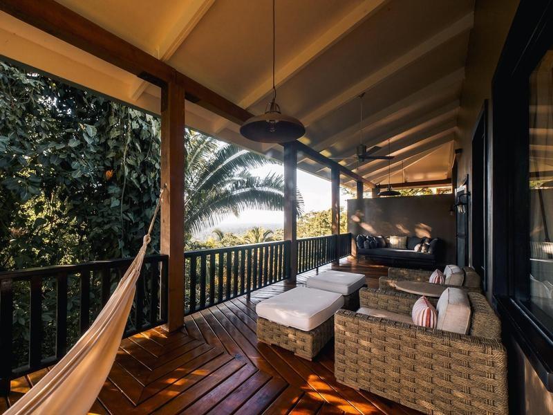 Luxury eco resort in Belize