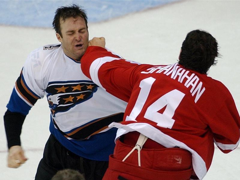 Detroit Red Wings left winger Brendan Shanahan