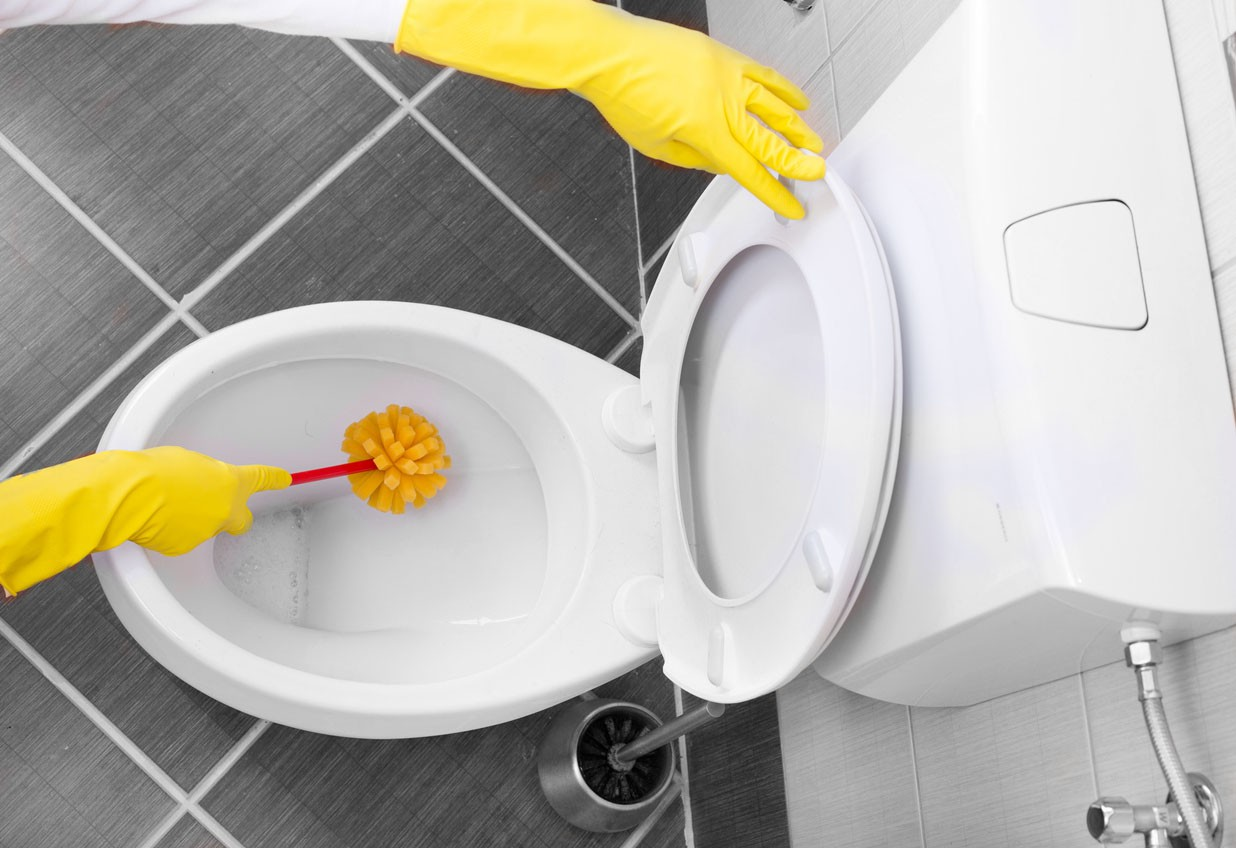 Clean the Toilets