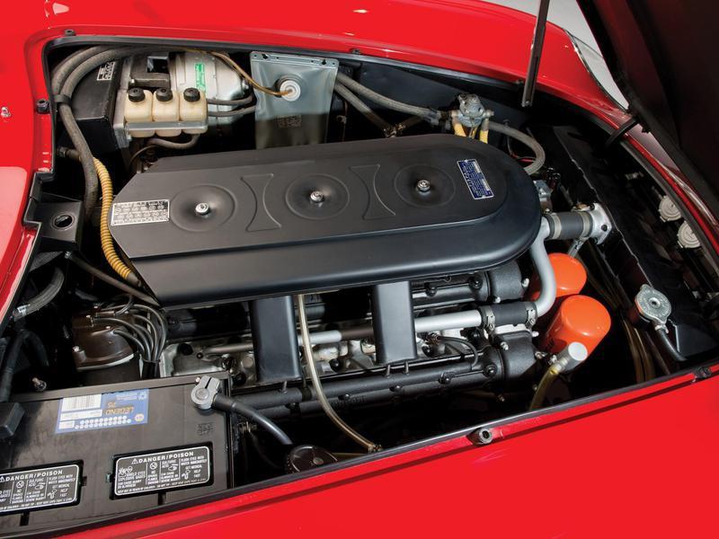 1967 Ferrari 275 GTB/4S NART Spider engine