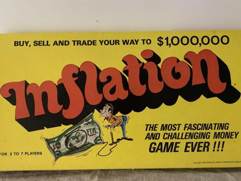 Vintage Inflation Board Game cover