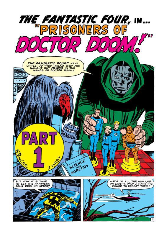 First Appearance of Doctor Doom