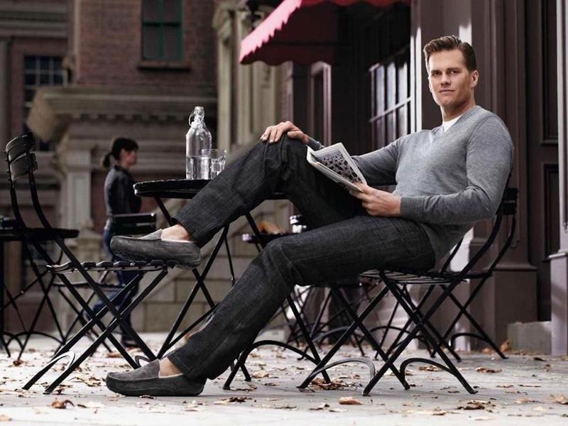 Tom Brady wearing UGGs