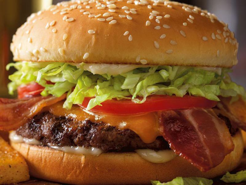 Red Robbin burger