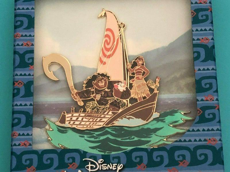 Disney WDI Moana Jumbo Pin