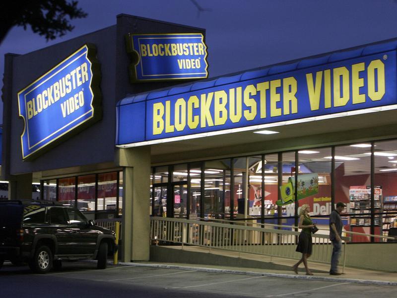 Blockbuster video rental