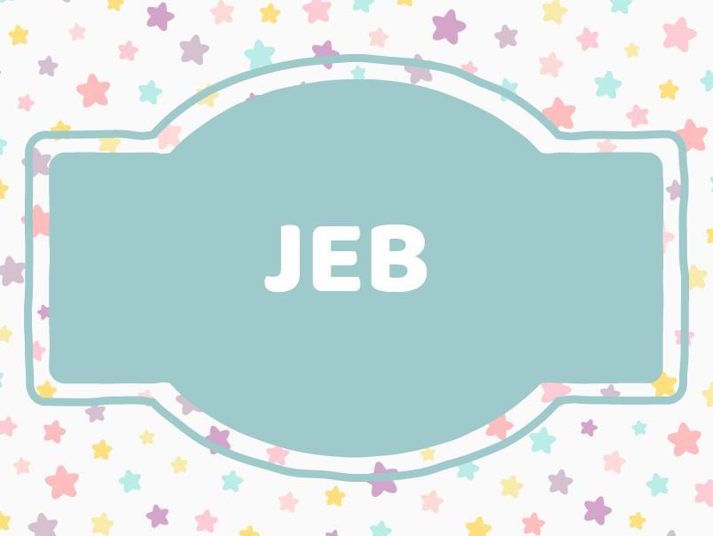 Cute J Baby Names: Jeb
