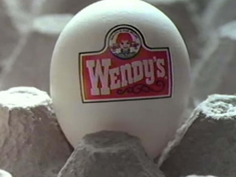 Wendy's 1980's Breakfast Menu