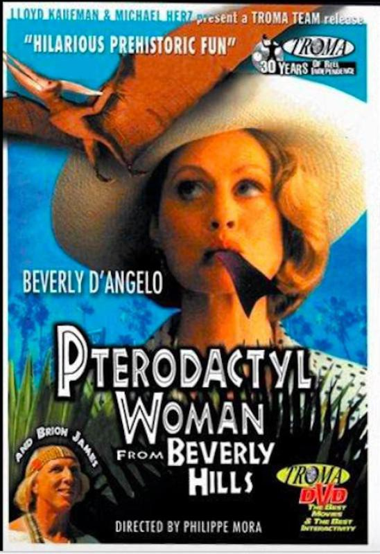 Pterodactyl Woman From Beverly Hills VHS tape