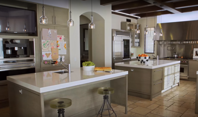 Kourtney Kardashian's kitchen