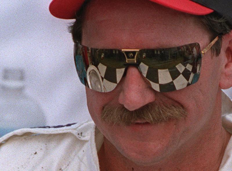 Dale Earnhardt smiling