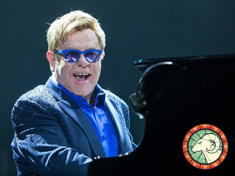 Aries: Elton John