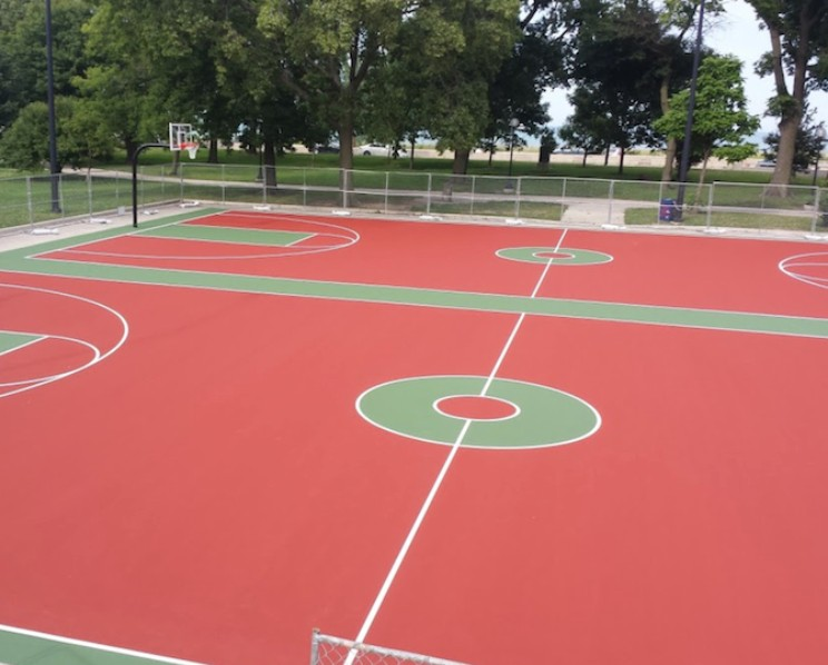 Jackson Park Basketball Courts