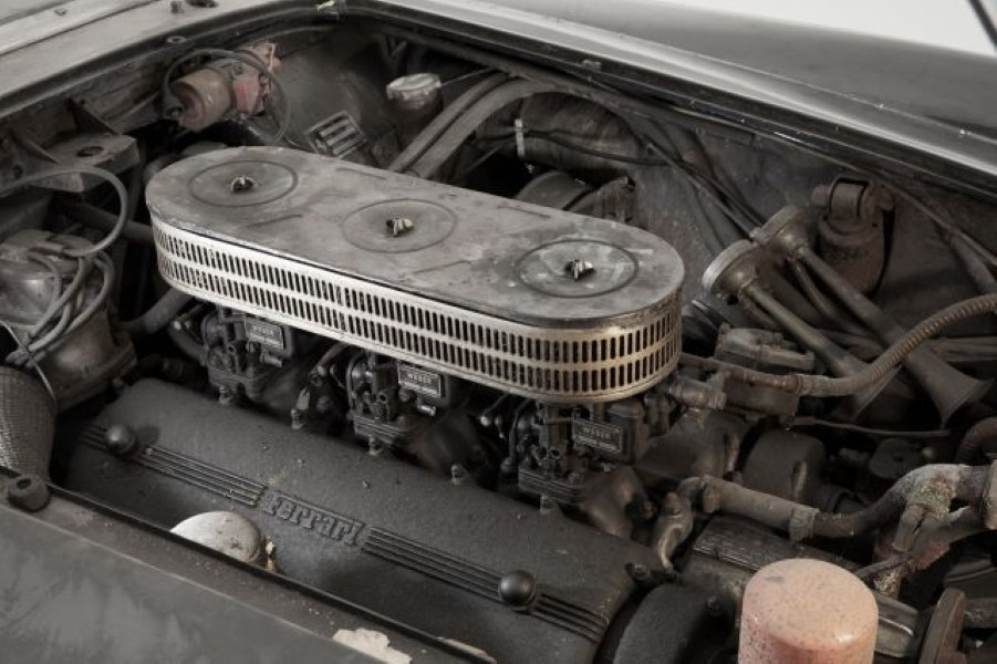 1961 Ferrari 250 GT SWB California Spider engine