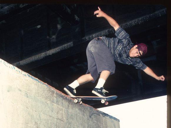 John Cardiel skating