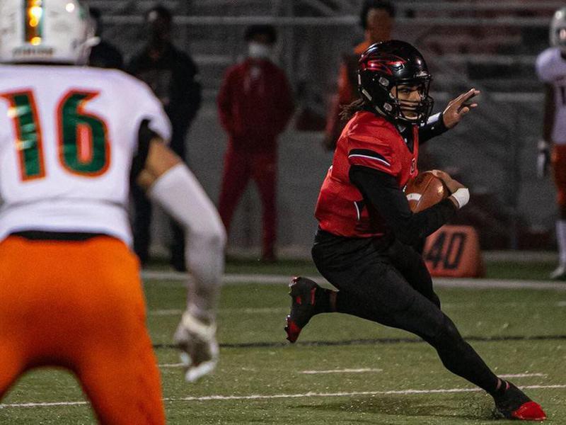 Owensboro High quarterback Gavin Wimsatt