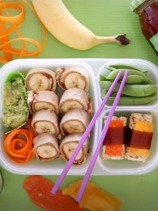 Fake sushi for kids