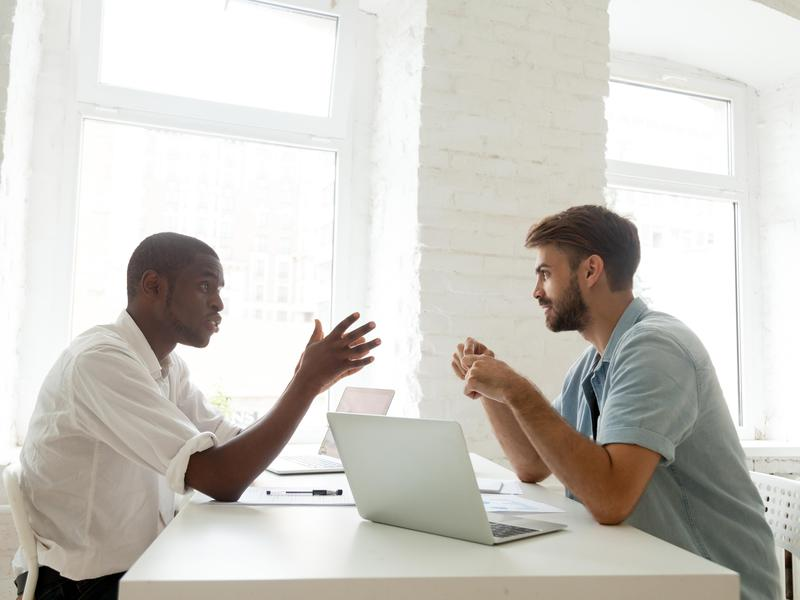 don't do during a negotiation