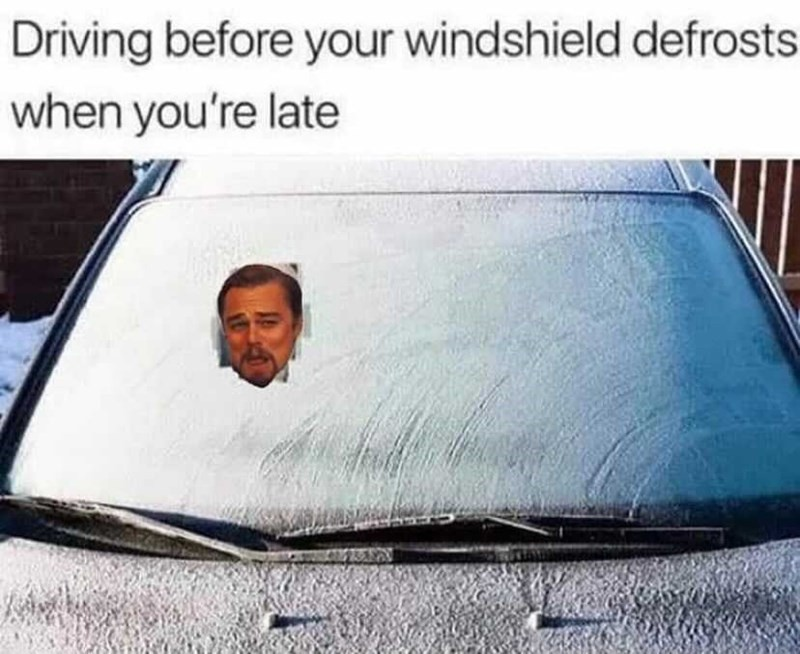 Windshield defroster, anyone?
