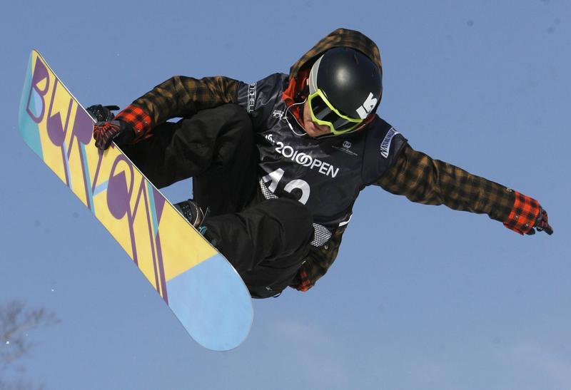 Snowboarder Kelly Clark