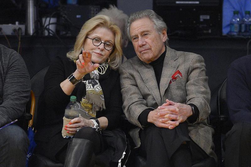 Philip Anschutz and his wife, Nancy