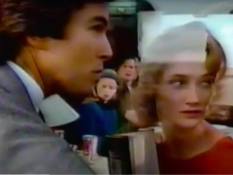 Pierce Brosnan Coke commercial in 1988