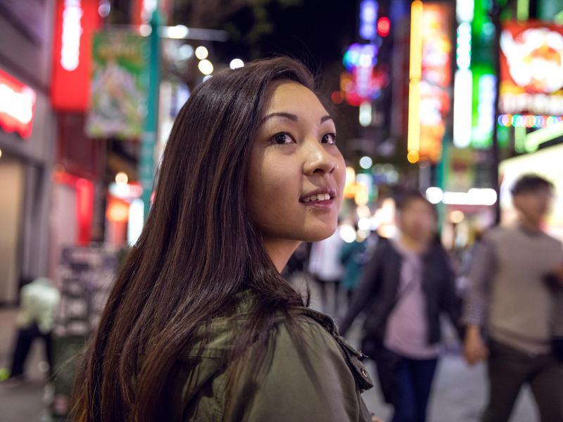 Woman in Taiwan