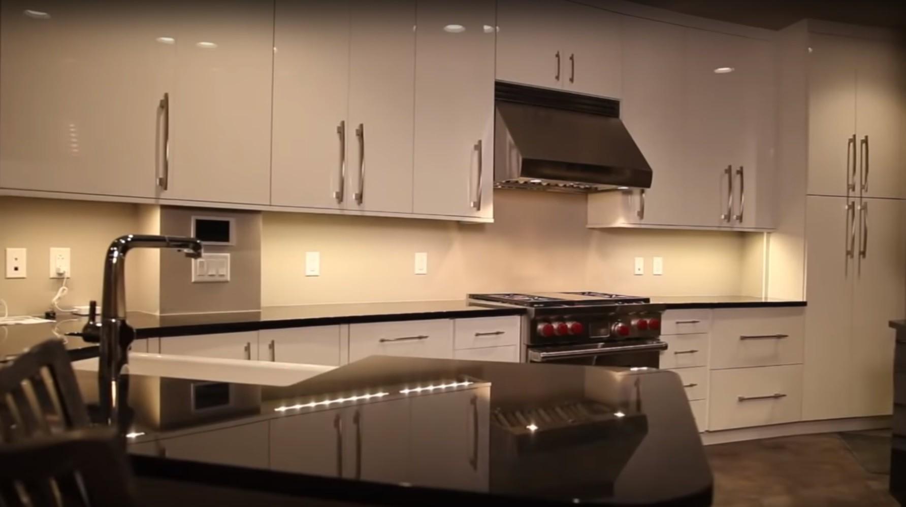 Survival condo underground kitchen