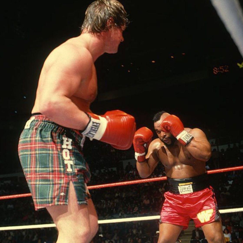 Roddy Piper vs. Mr. T at WrestleMania 2