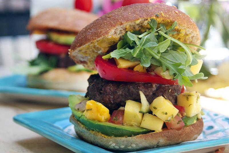 Burger Topping Ideas: Mango
