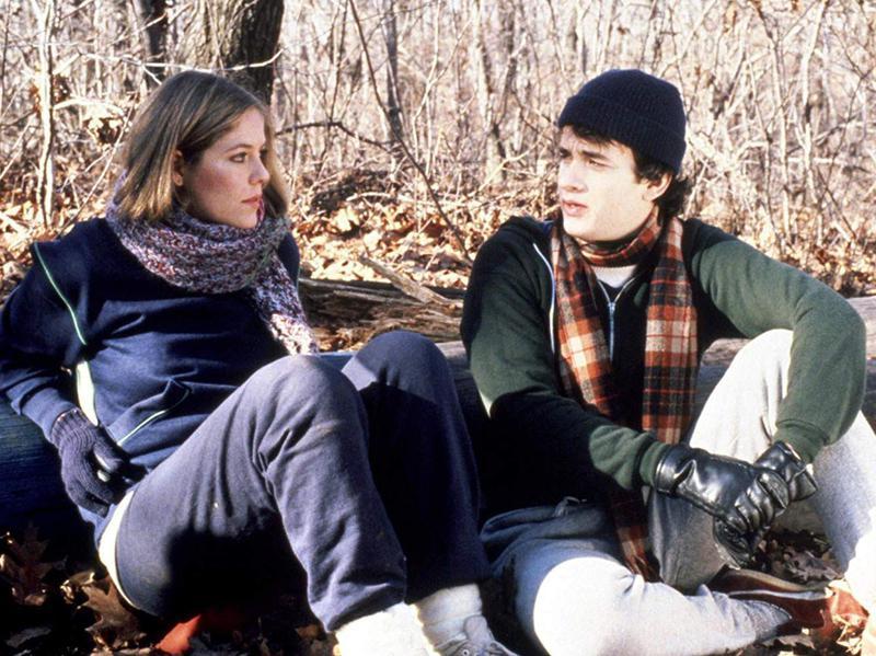 Tom Hanks and Elizabeth Kemp