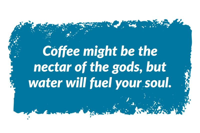 Water is a smart morning 'hack'