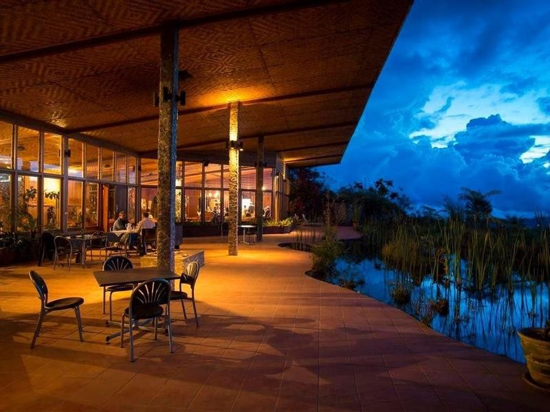 Luxury eco hotel in Papua New Guinea