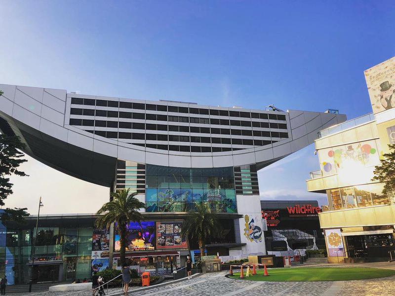 Peak Galleria in Hong Kong